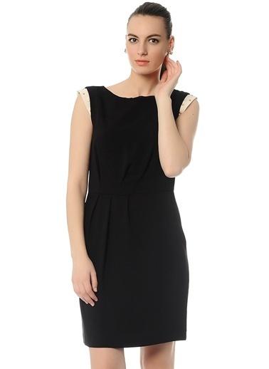 Limon Company Kolsuz Kısa Elbise Siyah